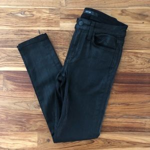 Joe's Jeans Coated Skinny Ankle Jean